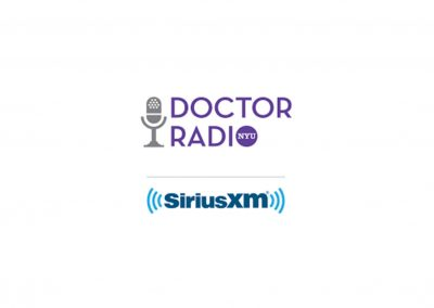 Regular Appearances on Sirius XM Doctor Radio
